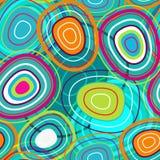 Belle texture de bulles Image stock