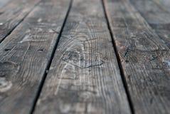 Belle texture en bois de vieux conseils gris Photos stock