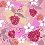 Belle texture florale Image libre de droits