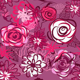 Belle texture florale Photos stock