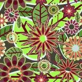 Belle texture florale Photographie stock