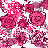 Belle texture florale Photographie stock libre de droits