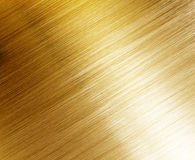 Belle texture polie d'or Photographie stock