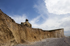 The Belle Toute Lighthouse at Beachy Head Stock Images
