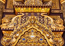 Belle trappe de temple Photos stock
