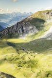 belle vallée de montagne Images stock