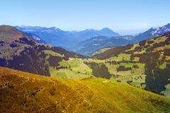 Belle valle di Bressanone ed alpi di Kitzbuhel, Austria Immagine Stock Libera da Diritti