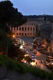 Belle vecchie finestre a Roma (Italia) Fotografia Stock Libera da Diritti