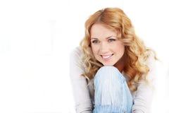 Belle verticale de femme Image stock