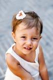 Belle verticale de jeune fille Photographie stock libre de droits
