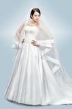 Belle verticale de mariée Images libres de droits