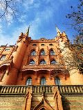 Belle vieille architecture de Szczecin, Pologne photo libre de droits