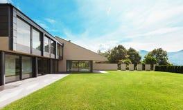 Belle villa, extérieure Photo libre de droits