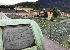 Belle ville de mauvais Ischl en Autriche Photo libre de droits