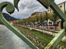 Belle ville de mauvais Ischl en Autriche Photo stock