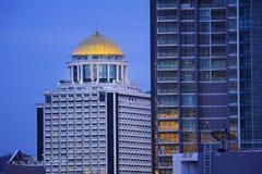 Belle ville de point de vue de Bangkok images stock