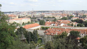 Belle ville de Prague Photo stock