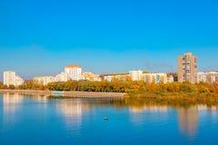 Belle ville de Ribnita dans le Transnistrie photographie stock