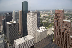 Belle ville Houston images libres de droits