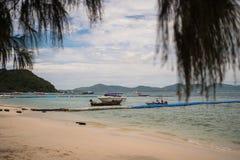 Belle viste dell'isola di Ko LUI in Tailandia nelle ore di crepuscolo e di alba Fotografia Stock