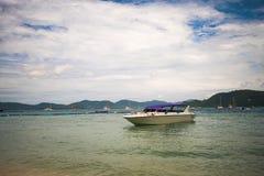 Belle viste dell'isola di Ko LUI in Tailandia nelle ore di crepuscolo e di alba Immagini Stock