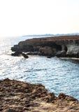 Belle viste della linea costiera Fotografia Stock Libera da Diritti