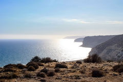 Belle viste della linea costiera Immagine Stock Libera da Diritti