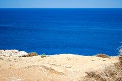 Belle viste della linea costiera Immagini Stock Libere da Diritti