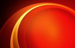 Belle voûte d'orange de vecteur Photos stock