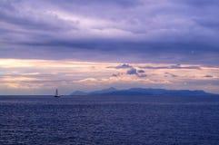 Belle vue à Athènes, Grèce images stock