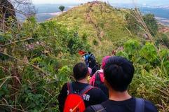 Belle vue à la colline de broga, Malaisie Images stock