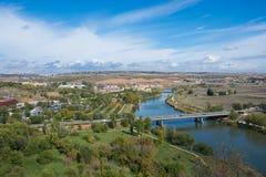 Belle vue à Toledo, Espagne Photos libres de droits