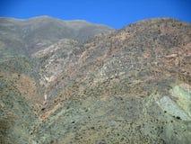 Belle vue aérienne des montagnes de Jujuy Argentine Amérique du Sud les Andes de montagnes Images libres de droits