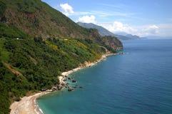 Belle vue adriatique de côte Images stock