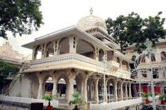 Belle vue au palais de ville, Udaipur Image stock