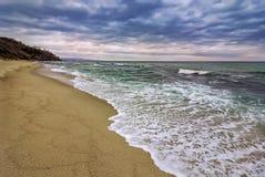 Belle vue côtière Image libre de droits