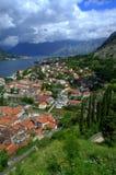 Belle vue d'été de Monténégro Images stock