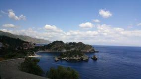 Belle vue d'île de la promenade Image libre de droits