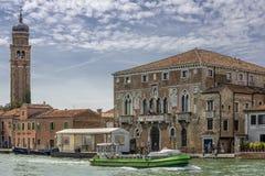 Belle vue d'île de Murano, Venise, Italie photo libre de droits