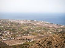 Belle vue d'île de Santorini Photographie stock