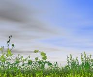 Belle vue d'horizontal Photo stock