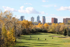 Belle vue dans le Canada Photos stock