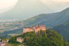 Belle vue de château Image libre de droits