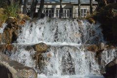 Belle vue 3 de courant de l'eau - Naran Pakistan Image stock