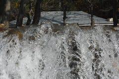 Belle vue 1 de courant de l'eau - Naran Pakistan Images stock
