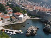 Belle vue de Dubrovnik Photos stock