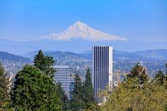 Belle vue de jardin japonais à Portland Photos stock