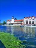Belle vue de Kaliningrad Russie photo stock