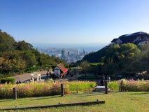 Belle vue de Kobe City de parc de fines herbes de jardin photographie stock