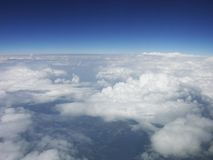 Belle vue de l'horizon images stock